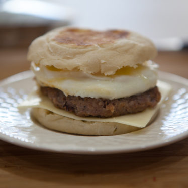 Sausage Egg Cheese Muffin